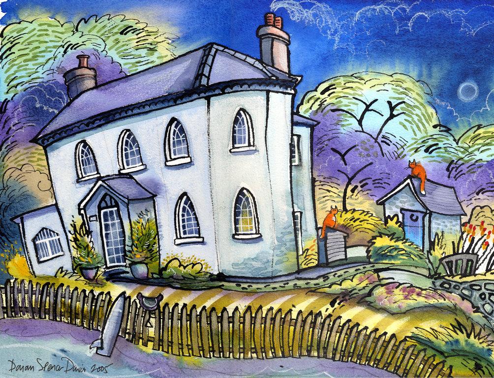 The Lodge , Orlielton, Pembroke