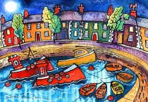 Dorian Spencer Davies - Paintings and Prints of Aberaeron Ceredigion