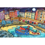 Blue Moon and Boats, Tenby