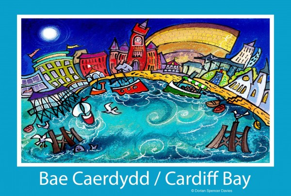 Cardiff Bay 3 Poster Print