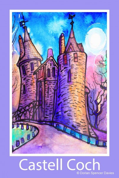 Castell Coch Poster Print