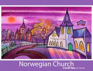Norwegian Church Poster Print