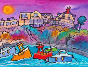 St. Brides and Boats, Saundersfoot