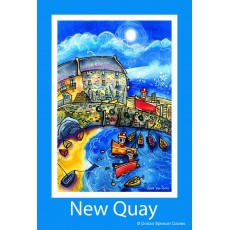 New Quay 1 Poster Print